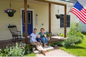 These Brooks, Maine homeowners chose solar installations to generate enery sustainably, and added insulation and air sealing to use it efficiently