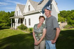 Energy Efficiency Case Study | Evergreen Home Performance | Cushing Maine