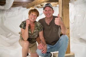 Basement Encapsulation | Evergreen Home Performance | Cushing Maine