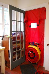 Blower Door Test & Energy Audit | Evergreen Home Performance | Maine