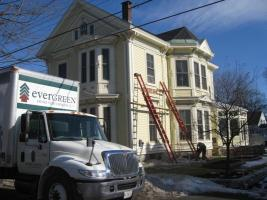 Victorian in Rockland getting insulated