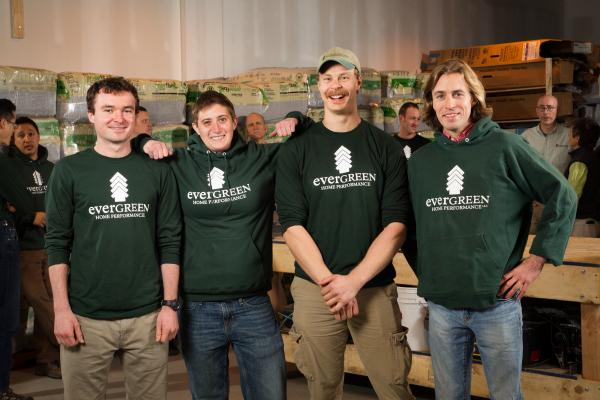 Portland Maine Production Crew | Evergreen Home Performance | Maine