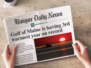 Bangor Daily newspaper header