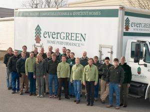 Evergreen Home Performance, window and door installation, ME