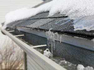 ice dams, evergreen home performance, ME
