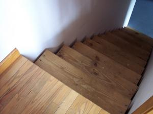stairs to a basement