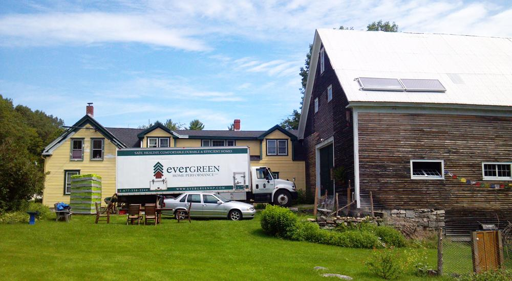 Evergreen Home Performance, Residential Projects, ME