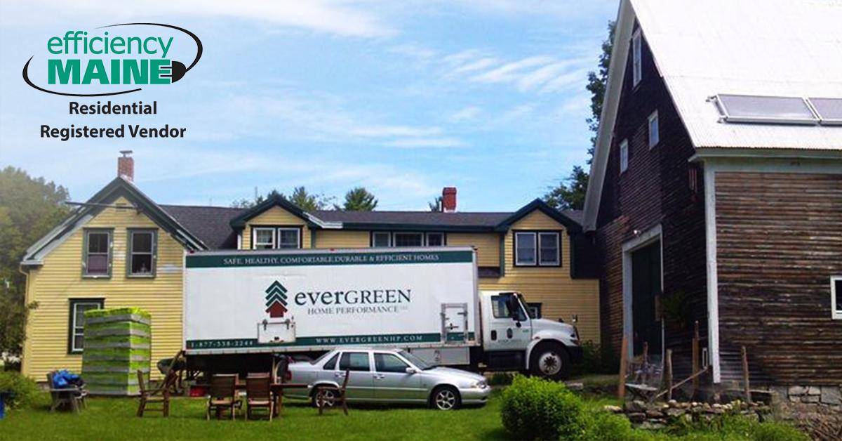 As a Efficiency Maine Registered Vendor, Evergreen Home Performance can assist you with all indoor comfort improvements,